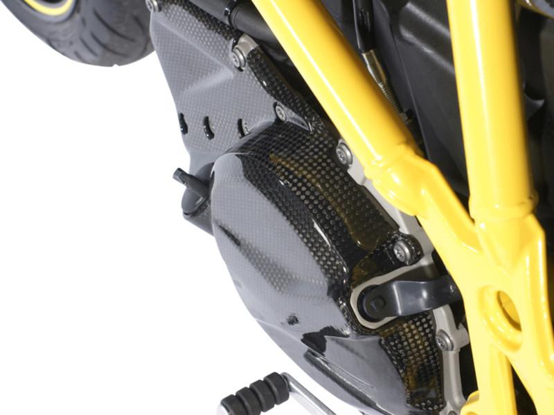 Protection moteur gauche