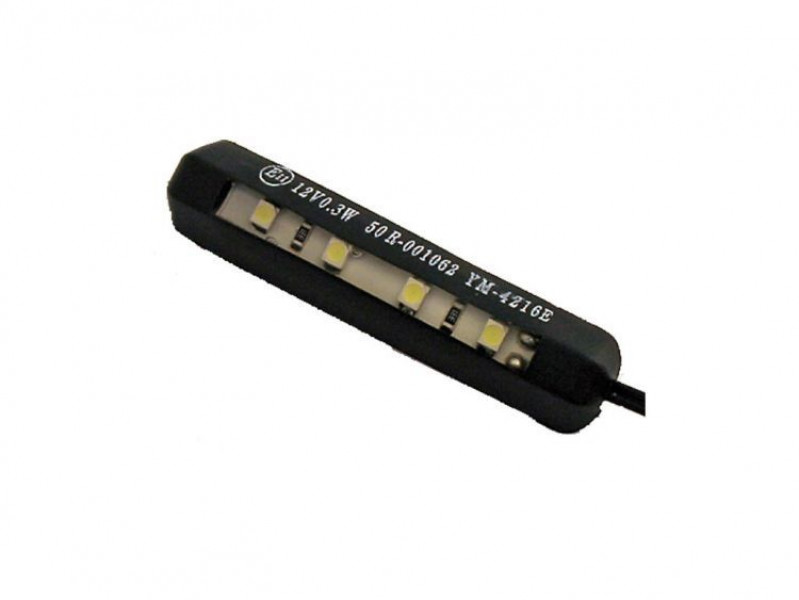 Luce per targa al LED Fine Liner