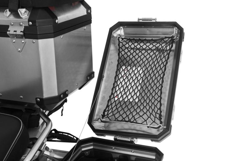Wunderlich rete fermabagagli per valigie in alluminio