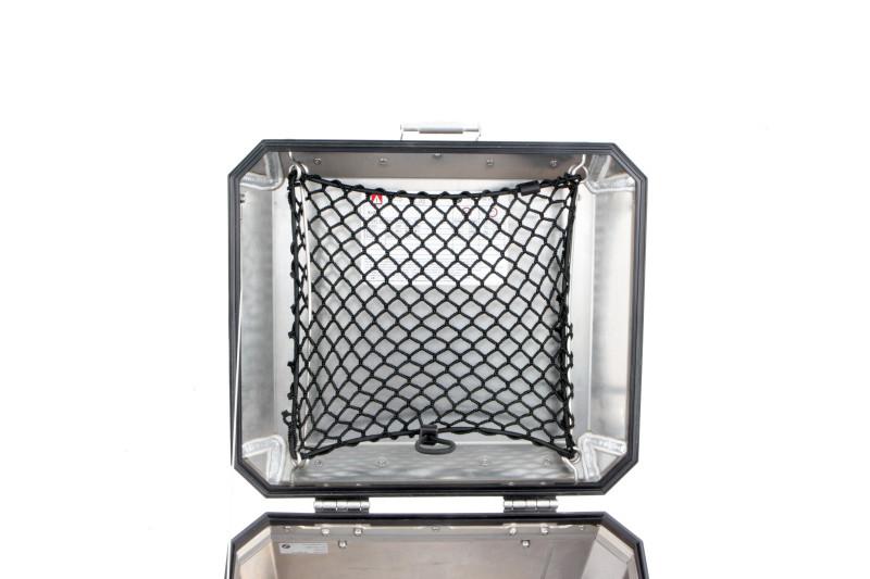 Wunderlich rete fermabagagli per Topcase in alluminio
