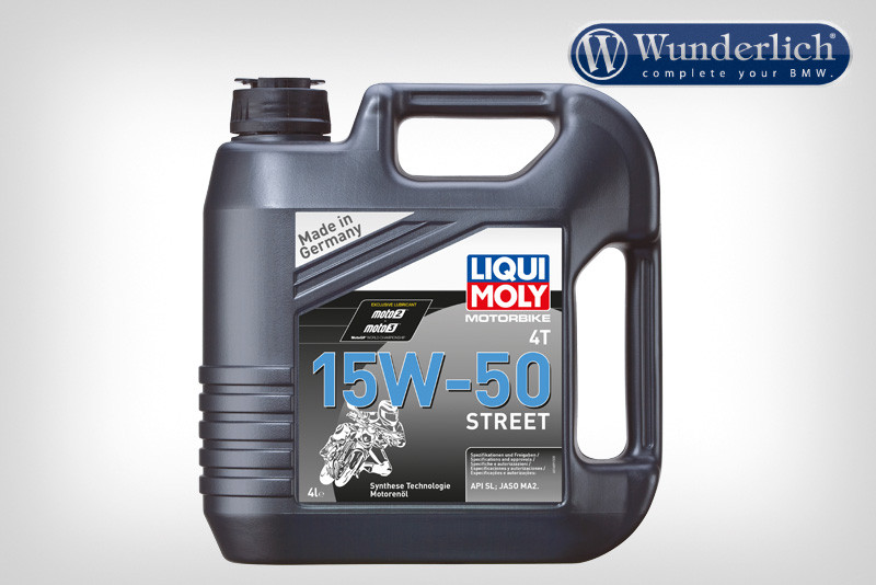 Olio per motore LIQUI MOLY 4T 15 W-50 Street