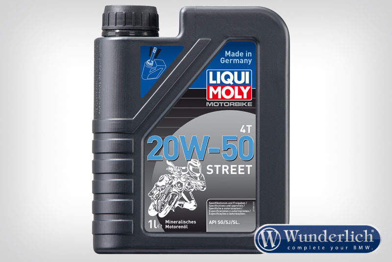 Olio motore LIQUI MOLY Street 4T SAE 20W-50