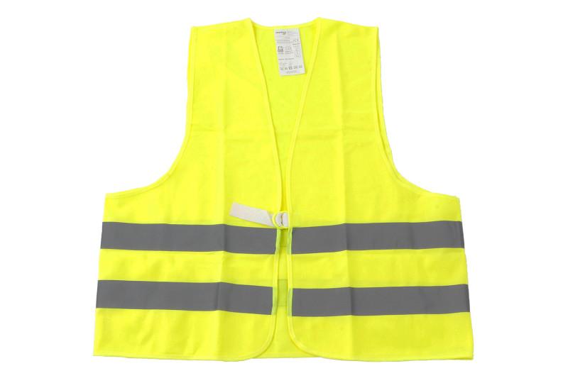 Giubbotto catarifrangente giallo neon