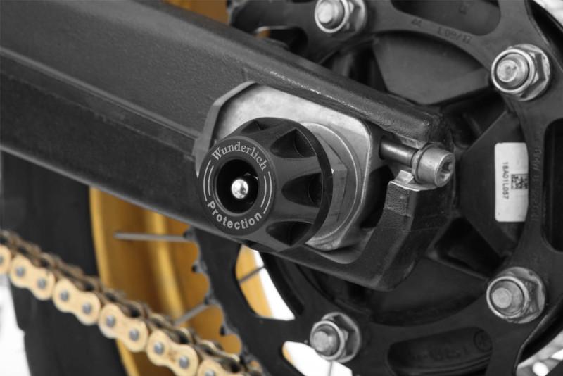 Wunderlich Tamponi di protezione asse ruota posteriore »DOUBLESHOCK«