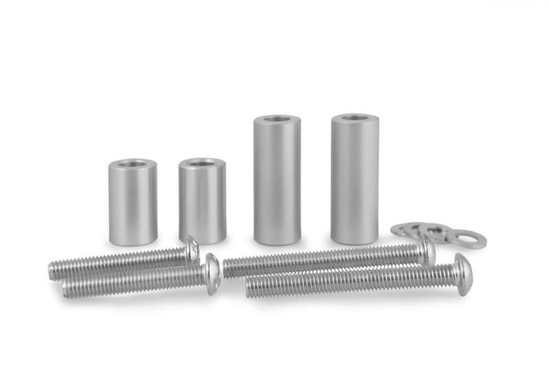 Wunderlich kit di montaggio per parafango in alluminio