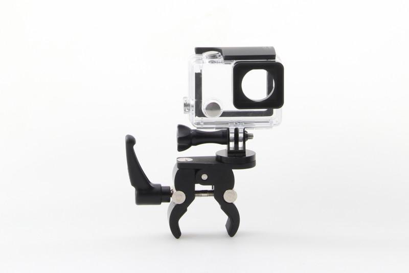 Supporto universale per macchina fotografica su tubi rotondi