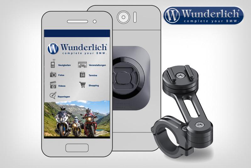 SP-Connect supporto per smartphone Moto Bundle
