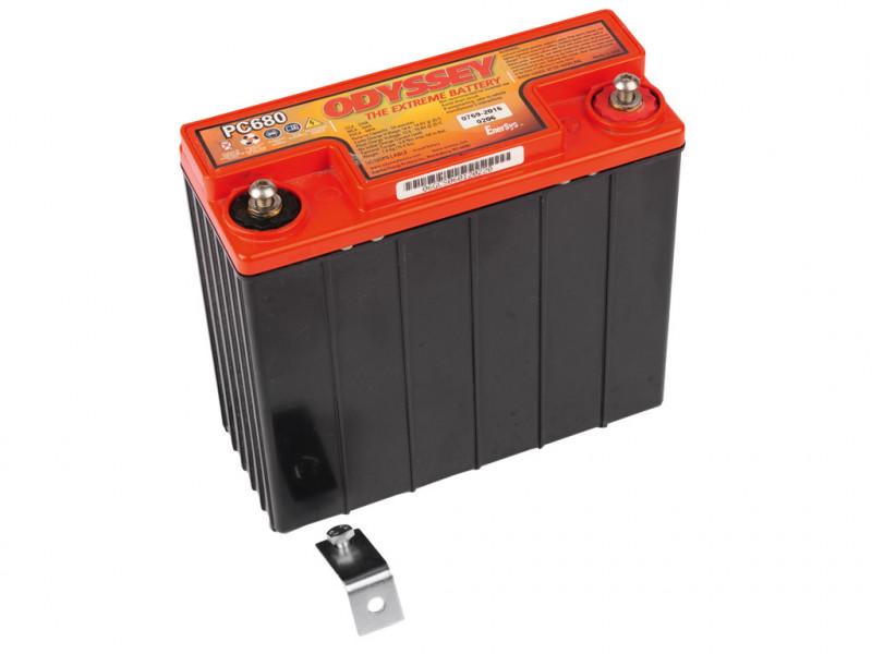Batería Odyssey de plomo puro para motocicletas PC 680 POWERPACK