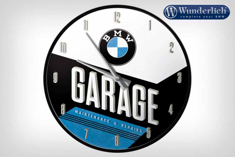 Reloj de pared BMW Garage - Nostalgic Art