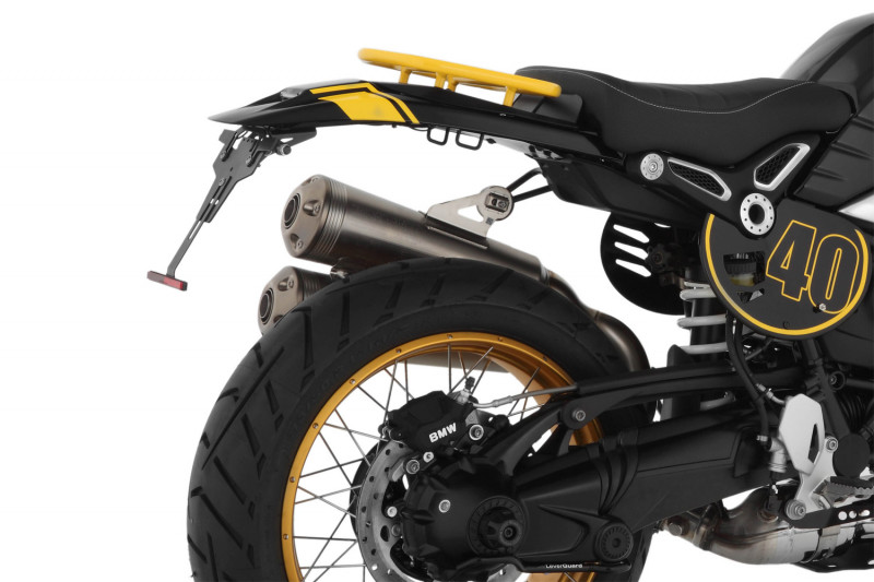 """Wunderlich """"Enduro"""" tail conversion with rear light"""