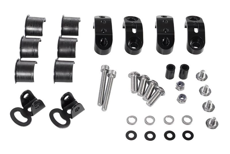 Kit de montaje para faro auxiliar original. Kit universal negro