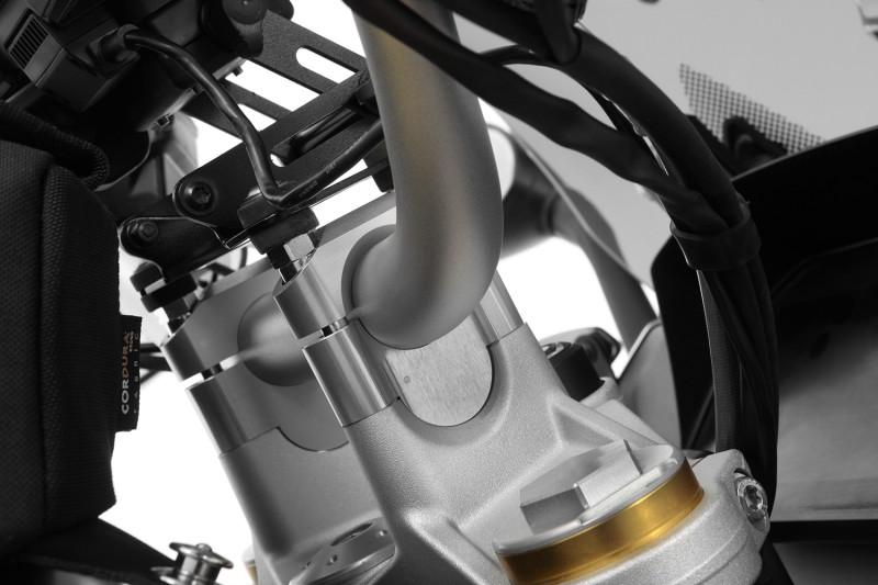 Elevador de manillar Wunderlich para modelos con navegador GPS BMW