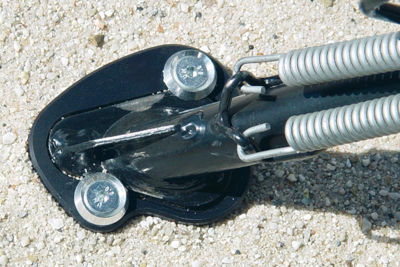 Ampliación de la base para la pata lateral Wunderlich