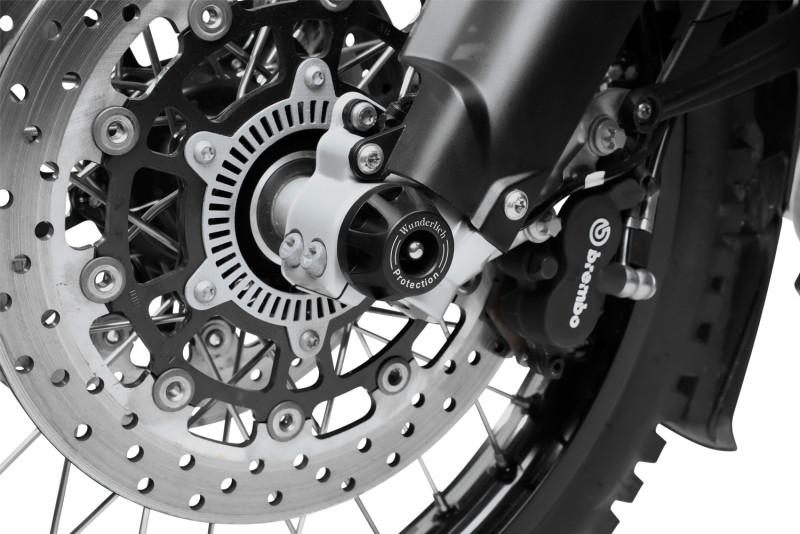 Wunderlich Deslizador de rueda delantera »DOUBLE SHOCK«