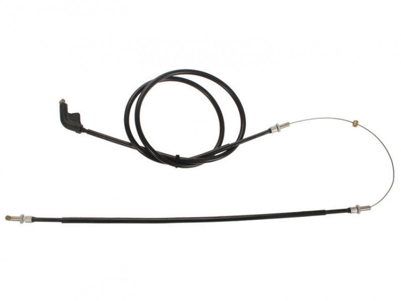 Long throttle cable