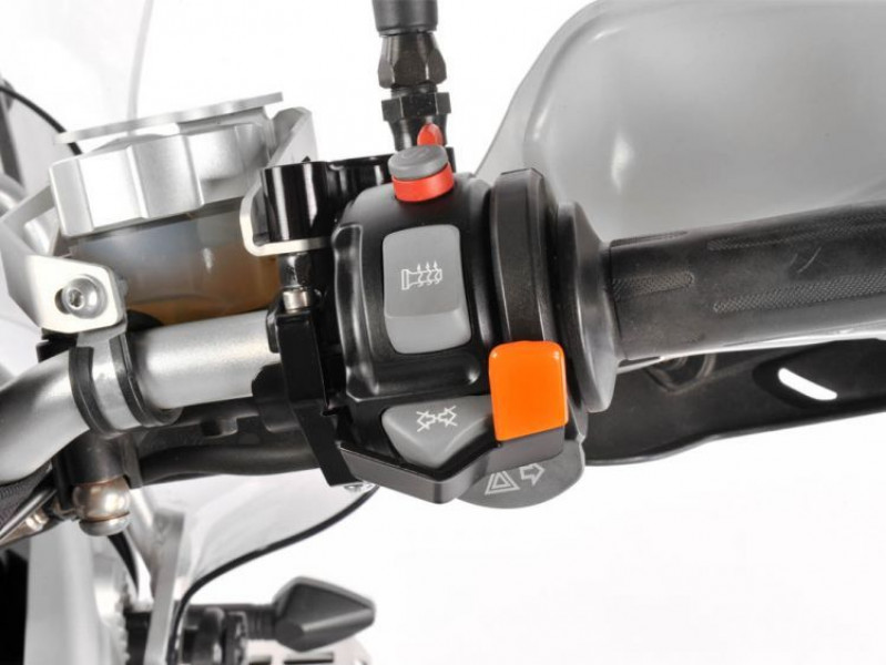 Indicator reset incl. horn guard