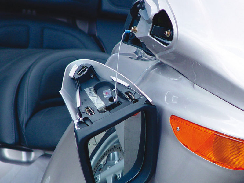 Cable de seguridad para retrovisor