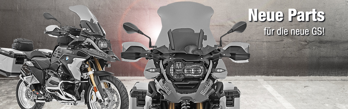 Neue Parts für die neue R 1200 GS LC