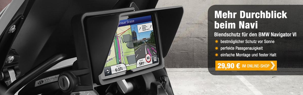 Geräte-Blendschutz BMW Navigator V!