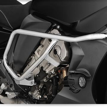 Wunderlich Tankschutzbügel an der BMW K 1600 GT
