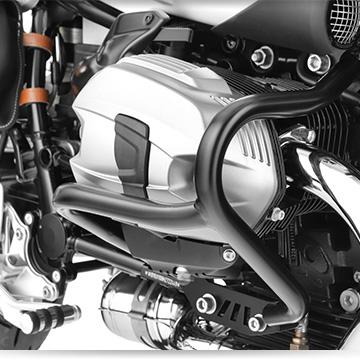 Wunderlich Schutzbügel an der BMW R nineT Pure