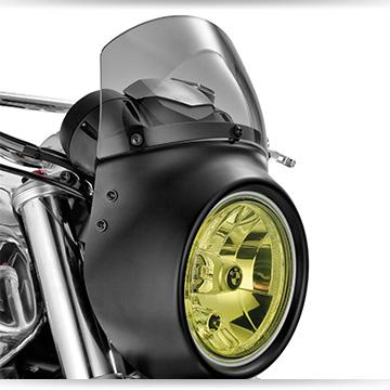 Wunderlich Verkleidungsscheibe für Lampenmaske an der BMW R nineT Scrambler