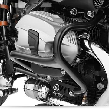 Wunderlich Sturzbügel an der BMW R nineT Urban GS
