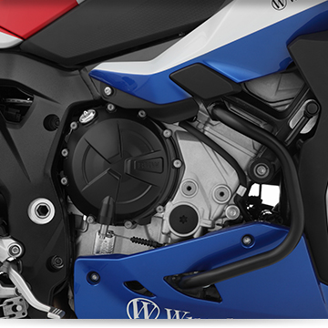Wunderlich engine protection bar »PRO« on BMW S 1000 XR