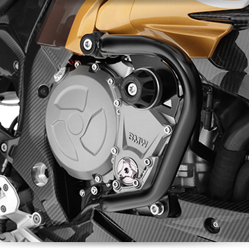 BMW G 310 R mit Wunderlich Motorschutzbügel BASIC
