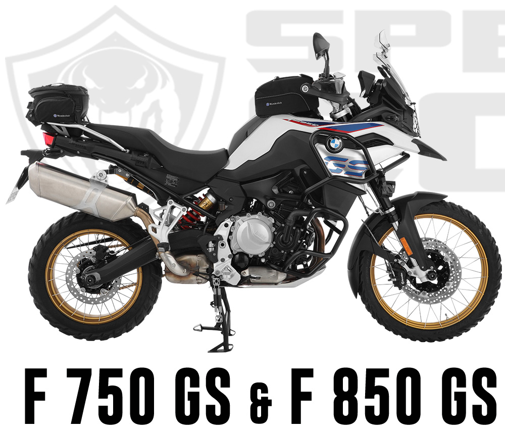 Cobra End muffler for Wunderlich BMW F 750 GS & F 850 GS