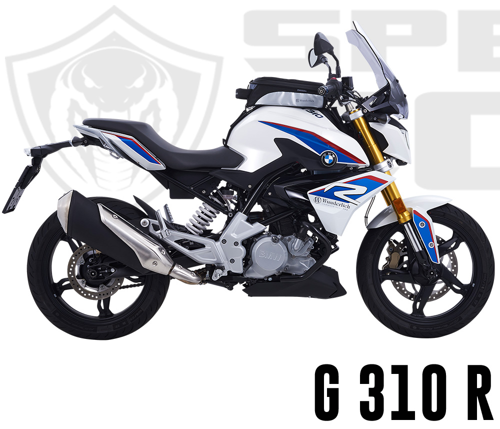 Cobra systems for Wunderlich BMW G 310 R