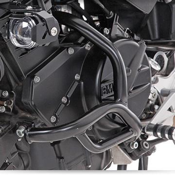 Wunderlich Tankschutzbügel an der BMW F 800 R