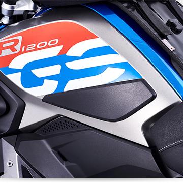Wunderlich Tankschutzbügel an der BMW R 1200 GS LC
