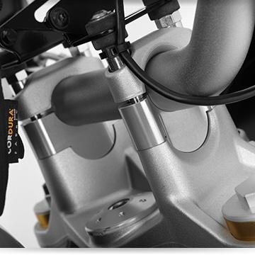 Wunderlich Lenkererhöhung an der BMW R 1250 R