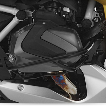 Wunderlich engine protection bar on the BMW R 1250 RS