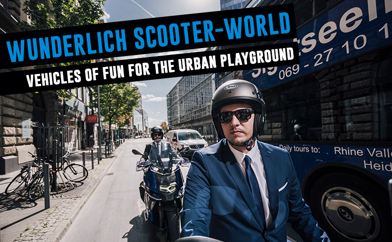 Wunderlich Scooter-World | The perfect vehicles of fun for the urban playground