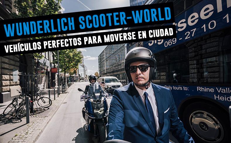 Wunderlich Scooter-World | unos vehículos perfectos para moverse en ciudad